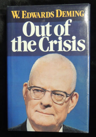 """William E. Deming publicó """" Out of the crisis"""""""