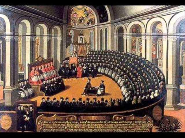 """Inicio del conflicto de Trento """"Reforma Católica"""""""