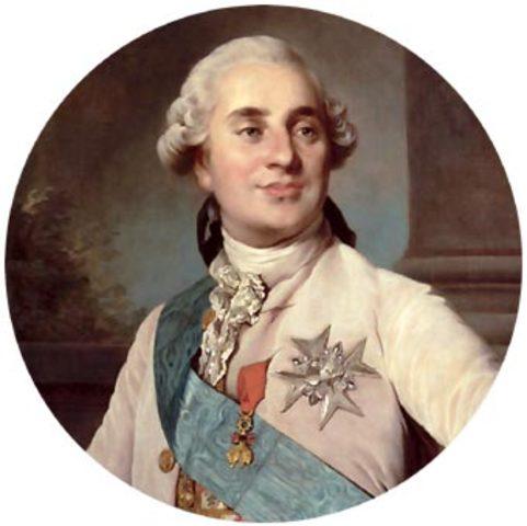 Asume la corona Luis XVI en Francia