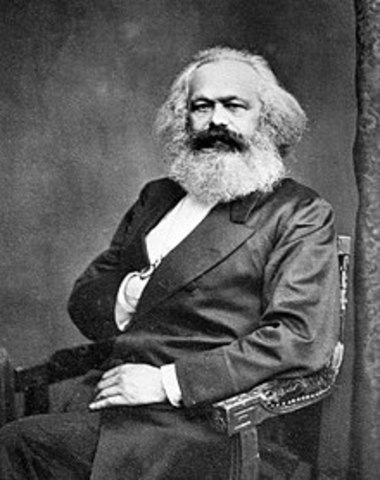 Nace Karl Marx