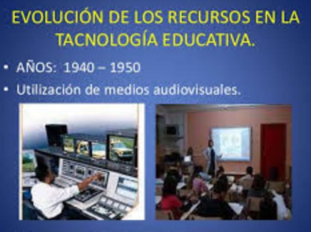 1950-1960, audiovisuales y la influencia conductista