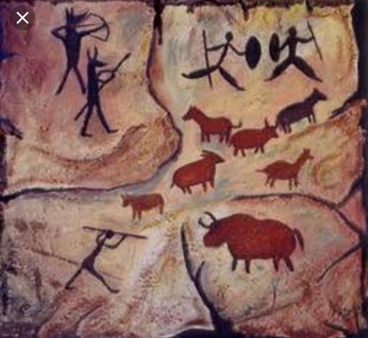 30.000 anos antes de Cristo: Pintura nas cavernas