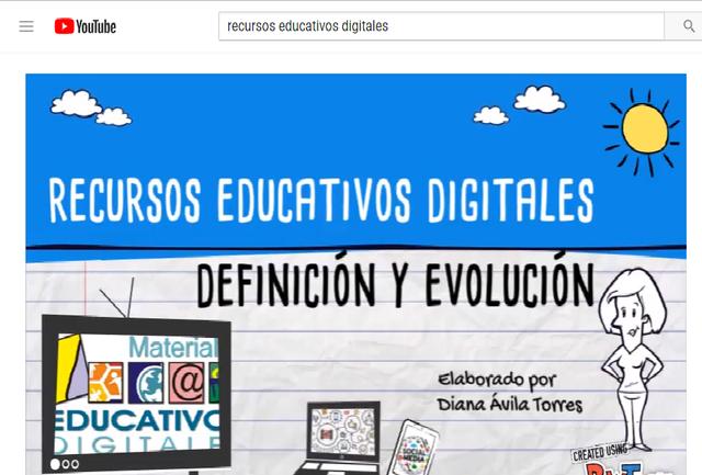 VIDEO- Evolución Recursos Educativos Digitales