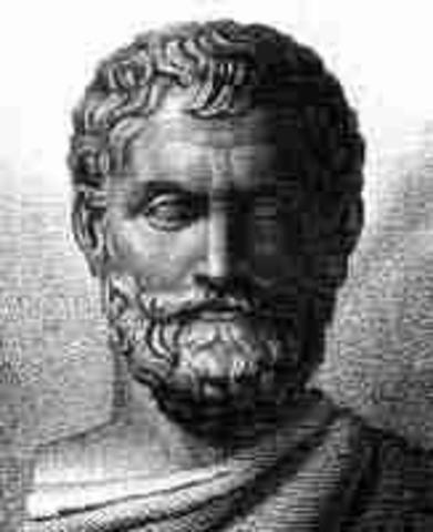 647 A.C Tales de Mileto