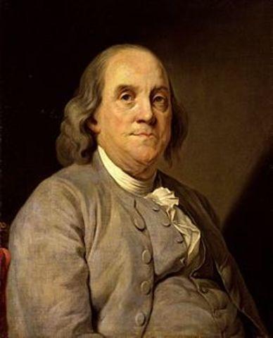 1706 Benjamin Franklin