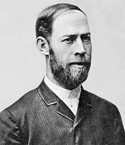 El Prof. Heinrich Hertz