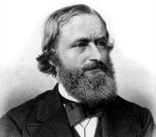 1824 Gustav R. Kirchhoff