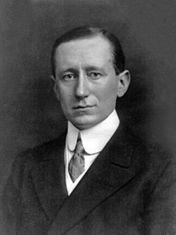 1874 Guglielmo Marconi