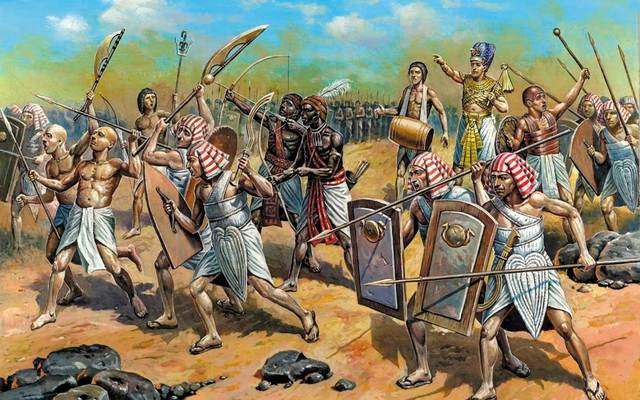 Caída del Antiguo Egipto.