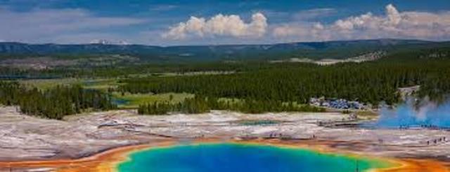 First U.S. National Park- Yellowstone