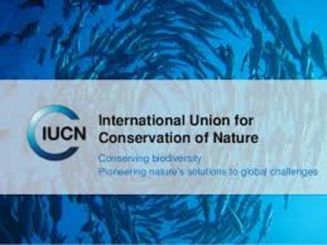 Founding of the IUCN