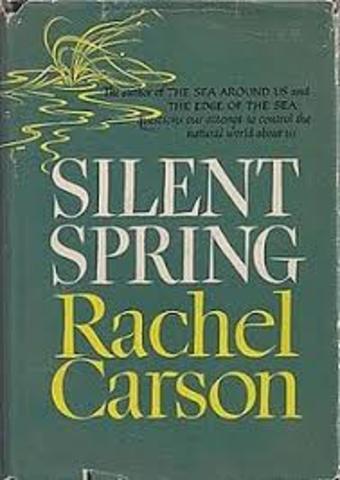 "Rachel Carson's ""Silent Spring"" published"