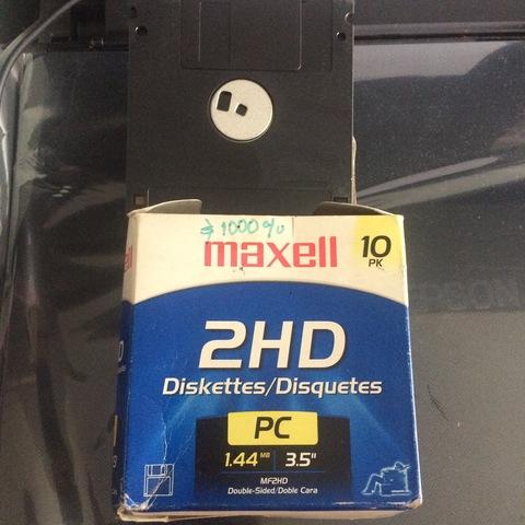 El disquete o disco flexible