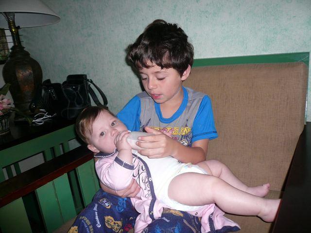 El día que nació mi hermana Daniela