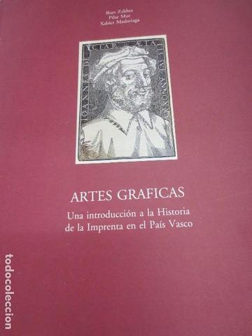 """Catálogo """"artes gráficas"""" (Texto y procesamiento de software)"""