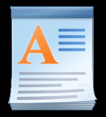 WordPad (Texto y procesamiento de software)