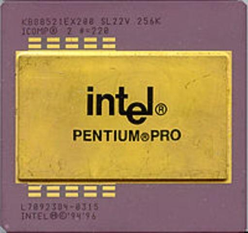Es presentado el Pentium Pro de Intel. (Computadoras)