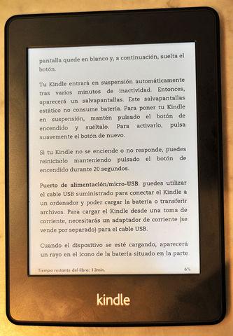 Tinta electrónica (Texto y procesamiento de software)