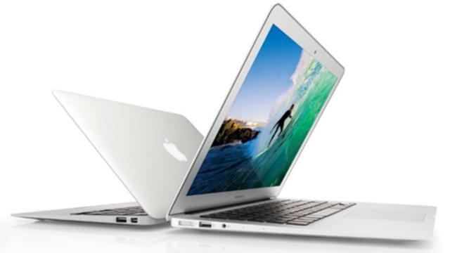 Macbook AIR laptop la más delgada. (Computadoras)
