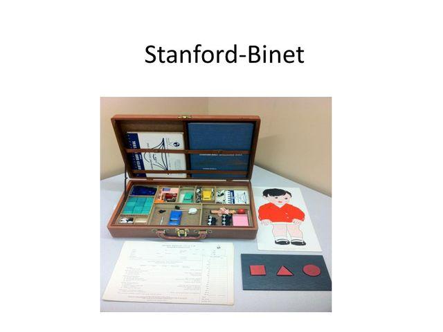 Lewis Terman publica la Escala de inteligencia de Stanford–Binet