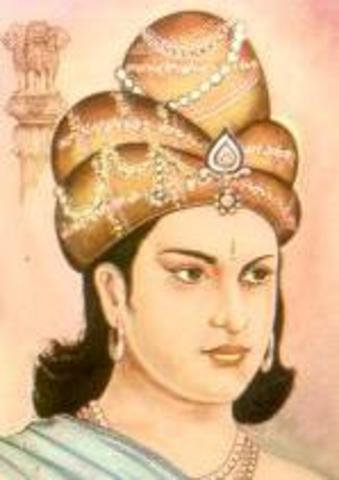 Edictos de Ashoka -  Ashoka Vardhana Emperador Fundador de la India.