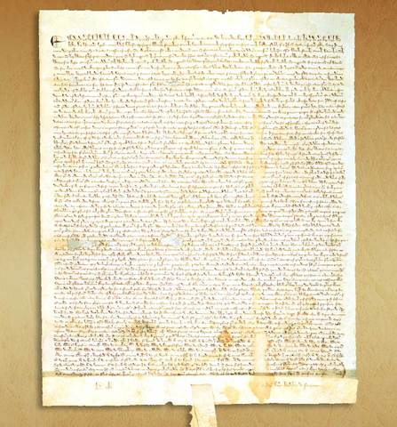 La Carta Magna - Inglaterra.