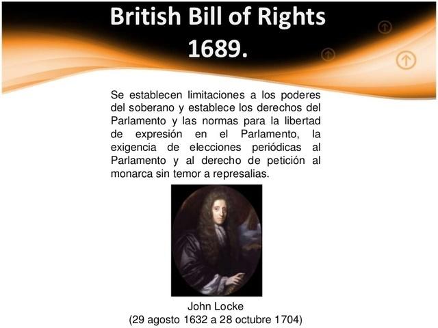 Proyecto de Ley Británica, Establece Leyes Naturales de la Vida, Libertad y Prosperidad.