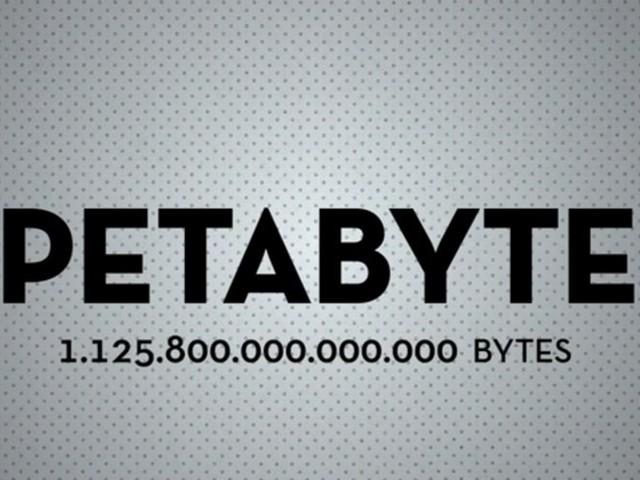 Petabyte (PByte)