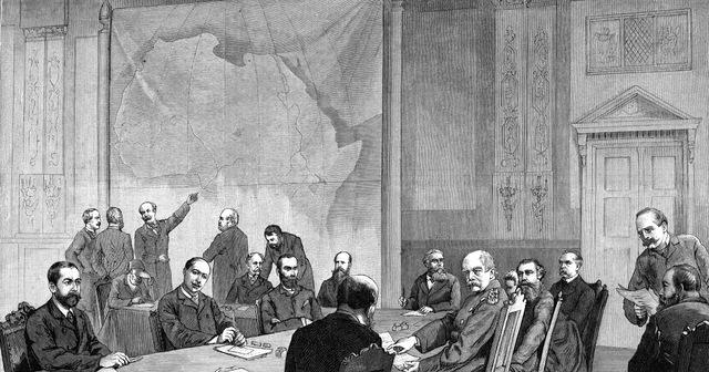 La Conferencia de Berlín- Acta de Anti-Esclavitud.