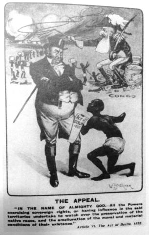 La Conferencia de Bruselas Aprueba un Acta de Anti-Esclavitud.