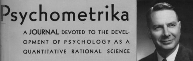 Se publicó el primer volumen de Psychometrika.