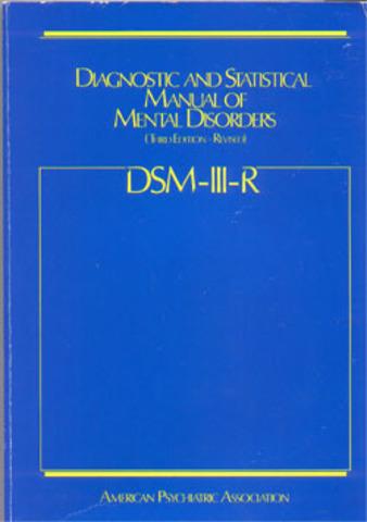 Se publicó el DSM-III-R