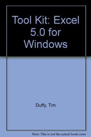 Microsoft EXCEL 5.0