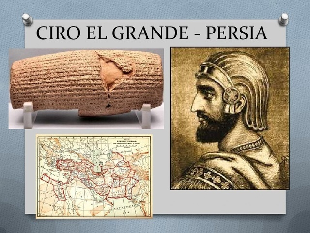 Ciro el Grande (El Cilindro de Ciro)