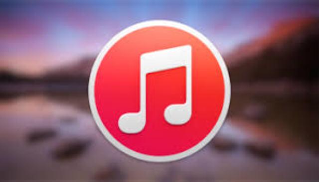 iTunes, tienda de música Online de Apple.