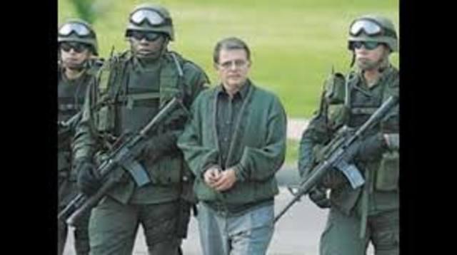 """El """"canciller de las FARC"""", alias """"Rodrigo Granda"""" es capturado en Caracas."""