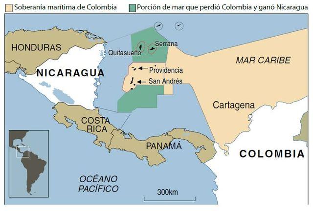 Disputa entre Colombia y Nicaragua