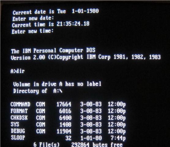 MS-DOS  VENDIDO A IBM