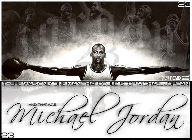 Michael Jordan is born .