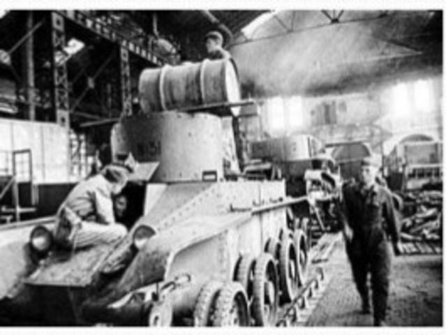 Etapa Segunda Guerra Mundial( 1939-1945)