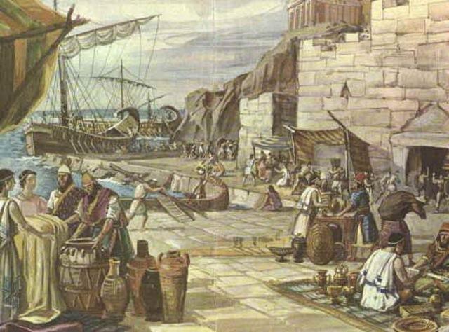 Fenicios (1200 A.C)