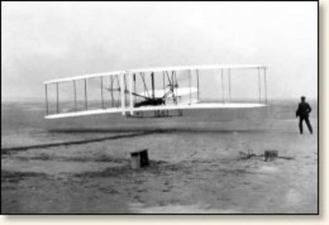 First Flight...