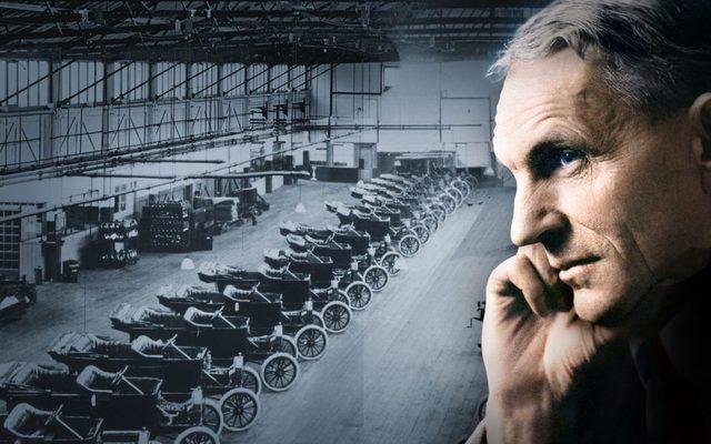 Linea de Ensamblaje - Henry Ford