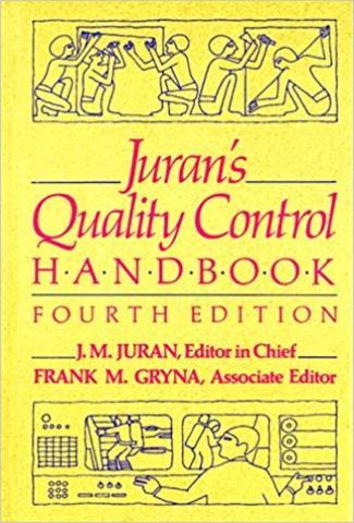 1era edición de Quality Control Handbook