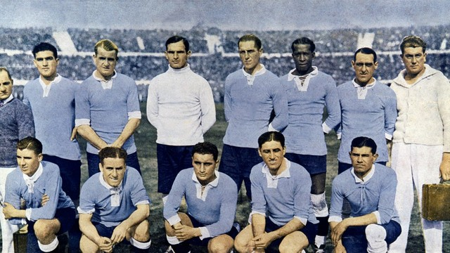 Uruguay wins their first World Cup