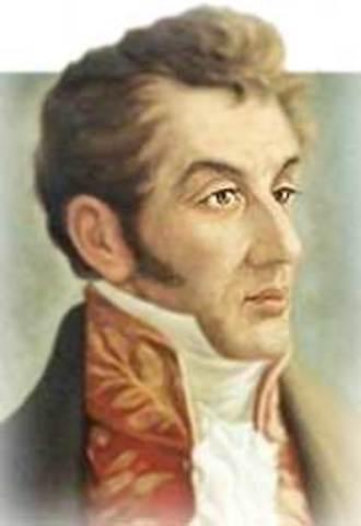 ANTONIO NARIÑO  20 DE SEPTIEMBRE 1811 AL 31 DE AGOSTO 1813
