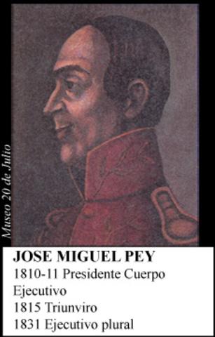 JOSE MIGUEL PEY 1810-11