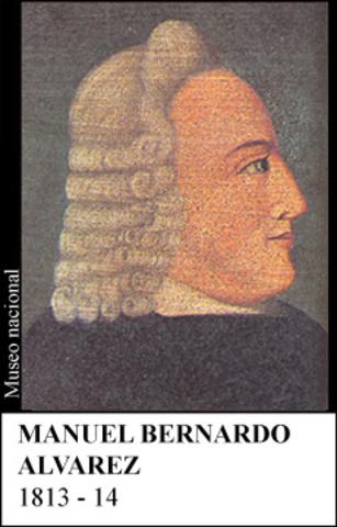 MANUEL BERNARDO ALVAREZ 1813-14