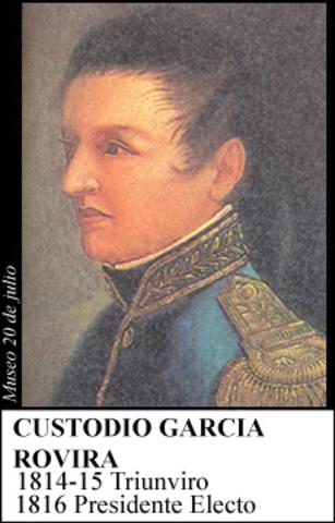 CUSTODIO GARCÍA ROVIRA 1816