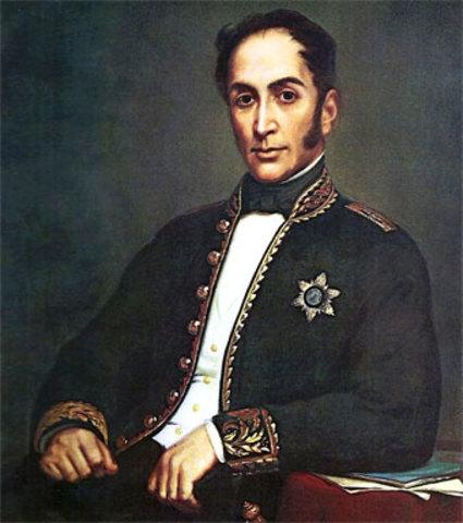 SIMON BOLIVAR 1819-1830